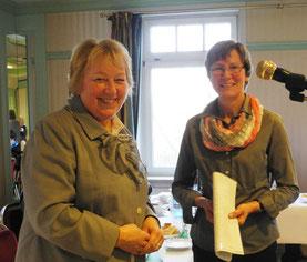 Frau Kristina Wendt als Vorsitzende des Kreis Landfrauenverbandes Stormarn