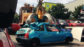 Auto verschrotten in Köln
