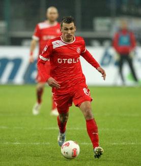 Robert Tesche im Trikot von Fortuna Düsseldorf