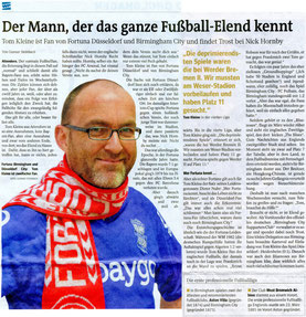 Zeitungsausschnitt Westfalenpost