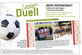 Auszug aus der GLÜCK-Zeitung vom 13.04.2016