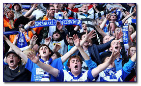 Supporters of Birmingham City