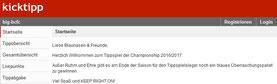 Startseite kicktipp.de
