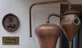 Eingang zum Whisky-Keller