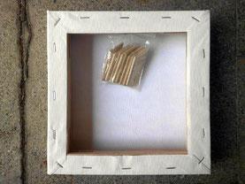 Wozu Braucht Ein Keilrahmen Holzstückchen Gerhard Marquard Maler
