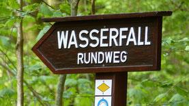 Der Geroldsauer Wasserfall im Schwarzwald