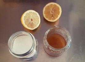 ceretta araba allo zucchero miele e limone fatta in casa