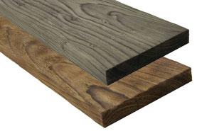künstlich gealtertes Holz in Altholz-Optik