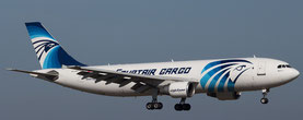 Egyptair commences cargo flights to Moscow  -  company courtesy