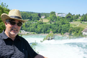 Dem Rheinfall noch kurz tschüss sagen
