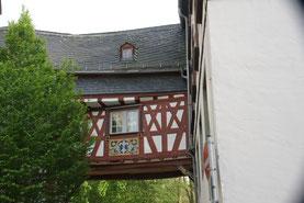 In der historischen Altstadt von Bad Camberg