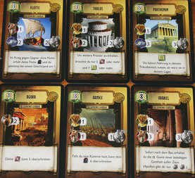 Zivilisations- & Gebäudekarten