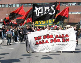 SAC-Demo in Stockholm 2008