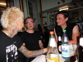 v. li.: Fred, Alex, Sven