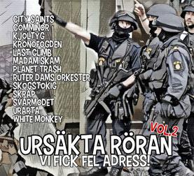 V.A. - Ursäkta Röran Vol. 2, Vi Fick Fel Adress CD