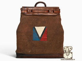 Steamer bag Louis Vuitton 1901 création 1901  : Creation of the steamer bag