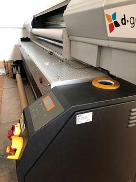 Digitaler Textildruck mit großen Warenbreiten - Feld Textil GmbH in Krefeld