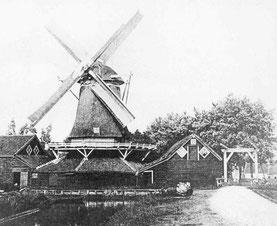 Eekmolen (1905) - (Foto: Stichting Oud Meppel)