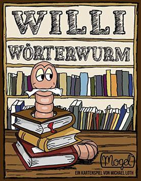 Rezension zum Kartenspiel Willi Wörterwurm