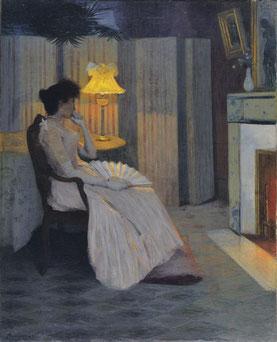 イポリットフルニエ 「夢想」 制作1893年