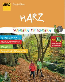 Buchcover: Harz - Wandern mit Kindern