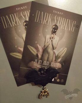 Tickets für das Dark Spring-Festival 2020/ Foto: Darkiness