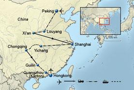 Rundreise China Peking Shanghai und Hongkong 2020