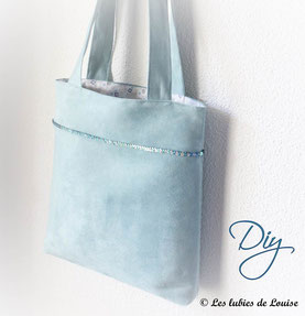patron couture sac gratuit facile