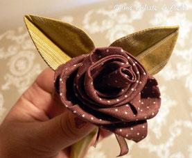Tutos Couture Fleurs En Tissu Le Site Pour Apprendre A Coudre
