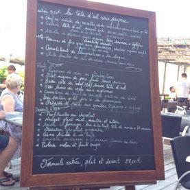"""""""Etwas zum Empfehlen für unsere zukünftigen Gäste: """"La Téte d'ail"""""""
