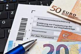 Hilfe bei der Steuererklärung