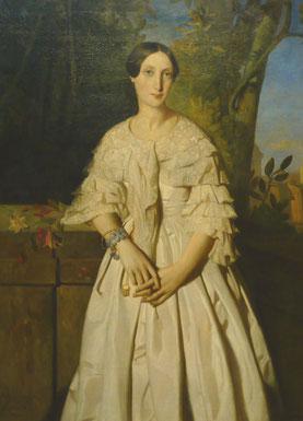 Comtesse de La Tour–Maubourg, Théodore Chassériau, 1841, The Metropolitan Museum of Art, New York. picture taken by Nina Möller