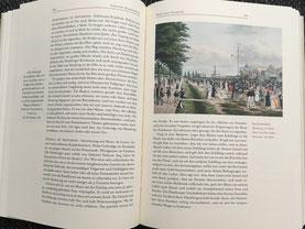 Blick ins aufgeschlagene Buch. Hier S.164/165: Dorothy Wordsworth: Reise nach Hamburg (1798)