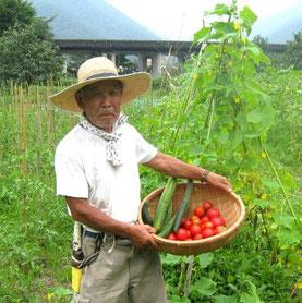 エコバレー農園の大庭さん
