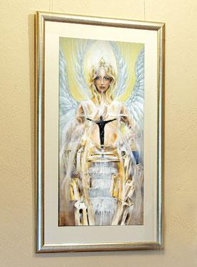 Exklusive Einrahmungen Poster Engel Hans-Jakob Bopp