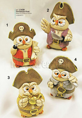 salvadanaio pirati gufetti