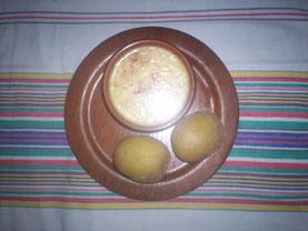 Berthod, Traditional meal in Haute Savoie, Regionale Spezialität in Hochsavoyen