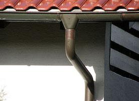 Dachrinne vom Dachdecker München