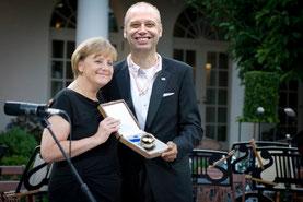Preisverleihung an den diesjährigen Tireur-Sieger von Klack95