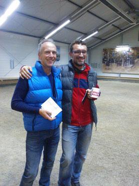 Klack-Nacht 2015: Sieger Benni (r.) mit dem Zweiten Knut