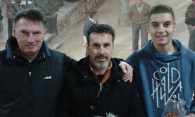 Siegerteam Rolf, Erdal und Lukas