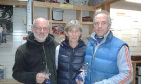 Siegerteam Erhard, Ute und Knut
