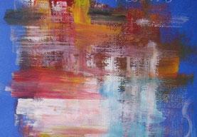 Energia del colore, acrilico su carta, 2000