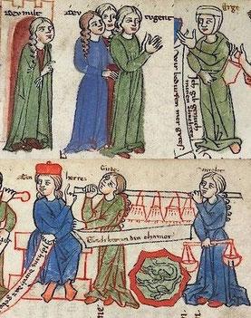 Illustration des Welschen Gast
