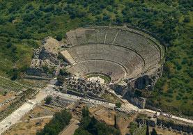 Das große Theater in Ephesus