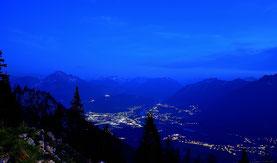 Abendlichter , Blaue Stunde , Alpen , berge , Landschaft , Lechtal , Panorama , Österreich , Berghütte , Hüttentour , Landscape , Alps , Blue Hour ,