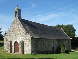 La chapelle Saint Maudez à Plouyé