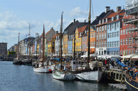 Harbour in Copenhagen, Denmark