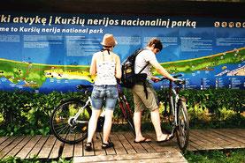 ein beliebtes Radwander-Gebiet