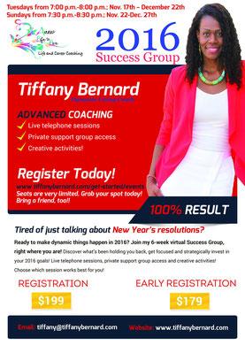 2016 Success Group Flyer